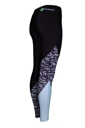 ESSENTIALS STAR Sportleggings Voltigierhose Design LAB GREY