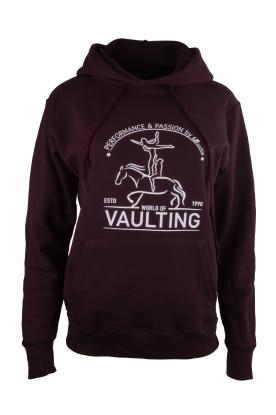 Hoody Sweatshirt - schwarz - College Vaulting-Print - NEW