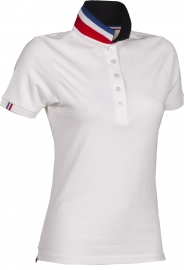 Premium Pique-Poloshirt NATION LADY - FRANCE