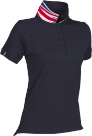 Premium Pique-Poloshirt NATION LADY - UK / GBR