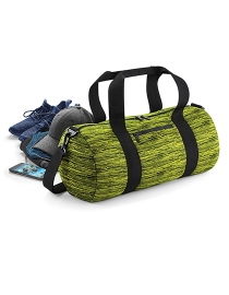 Duo Knit Barrel bag Sporttasche - ELECTRIC