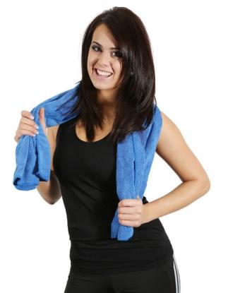 Sports Towel Frottee/ Funktions-Handtuch aus Mikrofaser - mittel