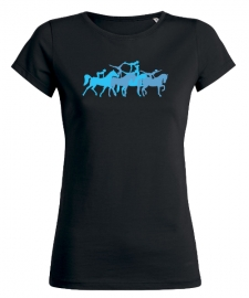 Grafik - T-Shirt - VAULTING - Blue Voltige!