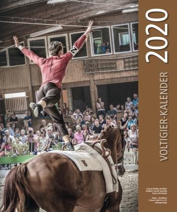 VOLTIGIER-Kalender 2020 - extra groß mit 36 Motiven