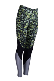 ESSENTIALS MOVE - DESIGN LAB lime Sportleggings- Made in Germany