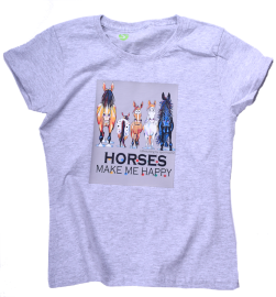 Kids T-Shirt HAPPY HORSES