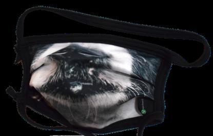 1er PACK / Mund-und Nasen-Maske KIDS- Modell HI STD DESIGN HUNDESCHNAUZE - Sonderproduktion