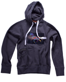 ATLANTA ORIGINALS HOODIE RAINBOW Pferd - Damen