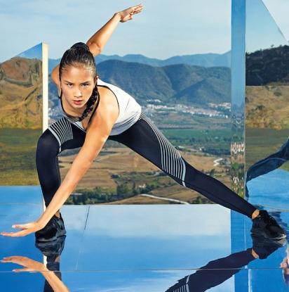 REFLECTIVE Sportleggings - PREMIUM Tight