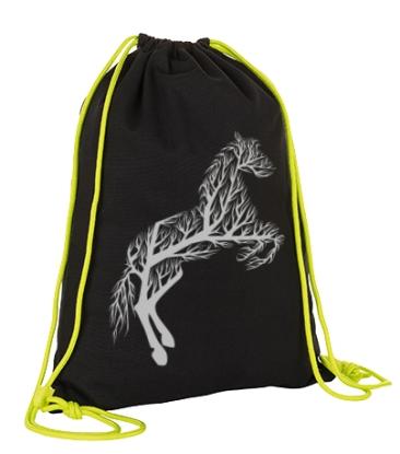 Voltigier Turnbeutel - Design HORSE TREE - Baumwolle