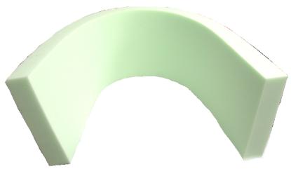 Voltigier-Gurtunterlage Standard PRO-kurze Form
