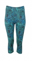 Capri 3/4 leggings Ocean