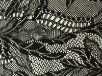 Spitze modern schwarz,  Art.-Nr. 1191125