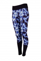 PREMIUM CUT Sportleggings Design ILUMI- Made in Germany
