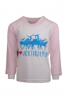 Baby Kids Long Sleeve Grafik TEE    I love Voltigieren