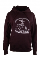 Hoody Sweatshirt - schwarz - College Vaulting-Print - NEW