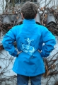 Kinder-Soft-Shelljacke mit Stehkragen Art.1173009