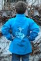 Kinder-Soft-Shelljacke mit Stehkragen