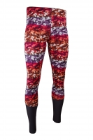 PREMIUM CUT Sportleggings Design CAMOUFLAGE RED Herren