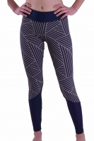 PREMIUM CUT Sportleggings Design DIAGONAL- Made in Germany