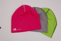 Sportive Mütze / Beanie aus Baumwolle - in 3 Farben erhältlich