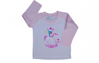 Baby/Kids Long Sleeve Grafik TEE - Unicorn Volti