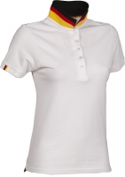 Premium Pique-Poloshirt NATION LADY - DEUTSCHLAND