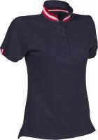 Premium Pique-Poloshirt NATION LADY - AUSTRIA / ÖSTERREICH