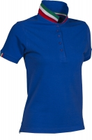 Premium Pique-Poloshirt NATION LADY - ITALIA / ITALIEN