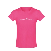 Kinder Voltigier T-Shirt - Good Day! - in 4 tollen Farben