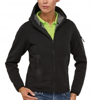 Frauen KNIT THERMO Funktions-Jacke mit Teddy-Fleece - RIPTIDE LADY