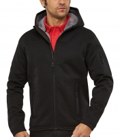 Herren KNIT THERMO Funktions-Jacke mit Teddy-Fleece - RIPTIDE MEN