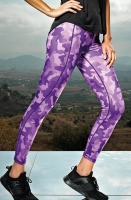 PREMIUM Sportleggings - DESIGN HEXOflage - in 2 Farben
