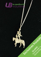 Silver Jewelry Pendant with Chain - Group/Triple - Art 003