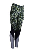 ESSENTIALS MOVE - DESIGN LAB lime Sportleggings