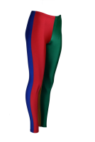 PROFI 4Farbig Voltigierhose Leggings - mit Wunschfarben - Made in Germany