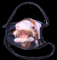 1er PACK / Mund-und Nasen-Maske - Modell HI STD DESIGN PFERDESCHNAUZE - Sonderproduktion