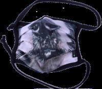 1er PACK / Mund-und Nasen-Maske - Modell HI STD DESIGN HUNDESCHNAUZE - Sonderproduktion