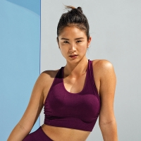 3D Sports Bra SEAMLESS /Crop Top / Sport-BH / Fitness-Top
