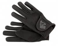 Voltigier-/Reit-Handschuhe STRASS - KINDER - für das kontaktlose Training - Sonderprodukt