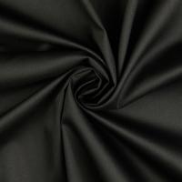 QUALITÄTS - Baumwollmix-Köperstoff, kochfest - schwarz