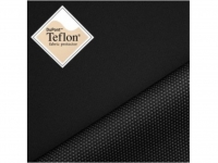 Athletik - leichter Softshellstoff mit Membrane & Teflon® Finish - schwarz