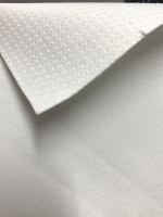 Athletik - leichter Softshellstoff mit Membrane & Teflon® Finish - weiß