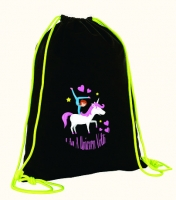Gym bag - Design Unicorn Volti - Cotton