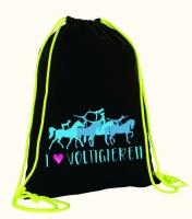 Voltigier Turnbeutel - Design LOVE VOLTIGIEREN - Baumwolle