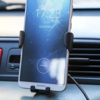 HYDRA mobile phone car holder with integrated charging function - wireless - #Travel/technology