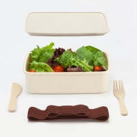 ARECA bamboo lunch box set with cutlery HERO-Edition - # Travel / Technology